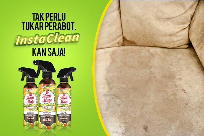 1PC INSTACLEAN - MULTIPURPOSE CLEANER - RM19.00