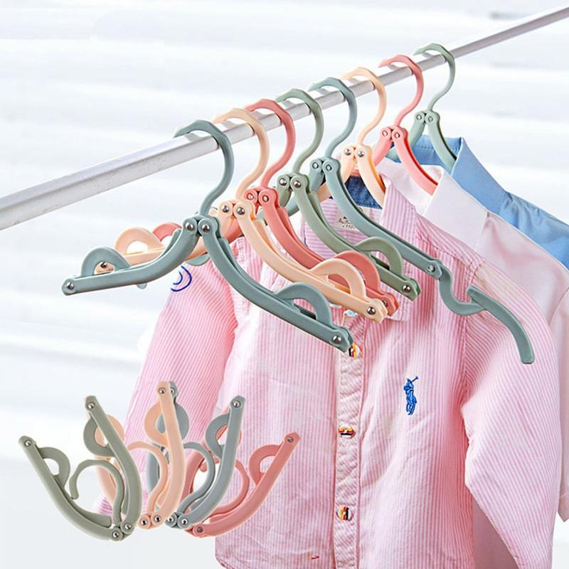 5PCS RADIMATE Foldable Travel Hanger - Pastel Series - RM12.00